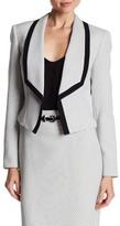 Nine West Shawl Collar Tweed Jacket