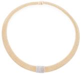 Roberto Coin Primavera 18K Two-Tone Gold & 0.64 Total Ct. Diamond Collar Necklace