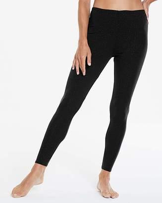 Naturally Close Thermal Black Sparkle Leggings