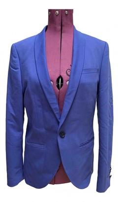 Noose and Monkey Purple Cotton Jackets