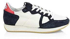 Philippe Model Men's Monaco Vintage Leather Sneakers
