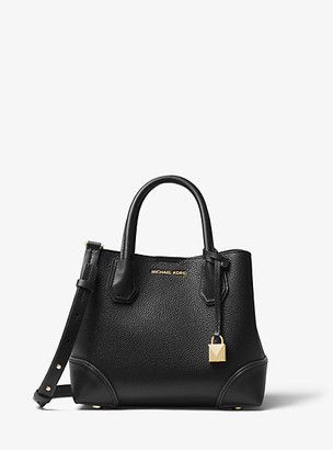 Michael Kors Mercer Gallery Small Pebbled Leather Satchel