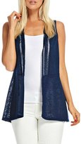 Skies Are Blue Lace Vest
