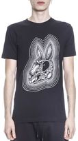 McQ Bunny Skeleton Cotton T-shirt