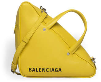 Balenciaga Triangle Duffle S Yellow