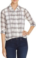 Foxcroft Buffalo Plaid Blouse