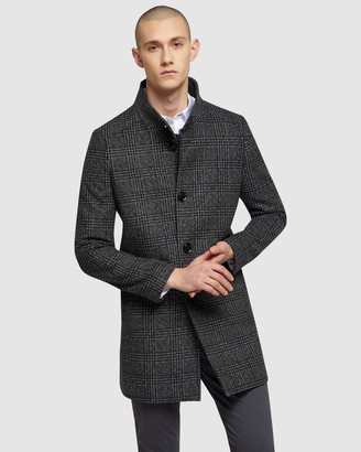 Oxford Dunbar Check Overcoat