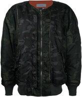 Facetasm oversized bomber jacket - men - Nylon - 0