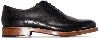 Grenson Rose leather brogue shoes