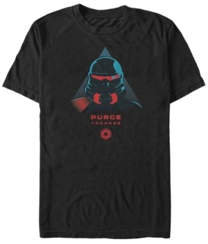 Star Wars Men's Jedi Fallen Order Purge Trooper Helmet T-shirt