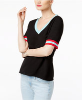 Cynthia Rowley CR By Colorblocked T-Shirt, Only at Macy's