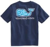 Vineyard Vines Boys' Marlin-Print Whale Tee