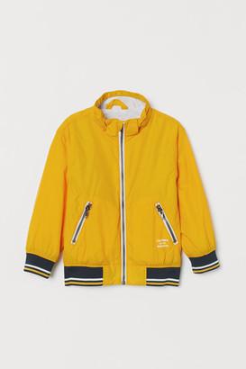 H&M Jersey-lined nylon jacket