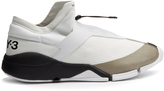 Y-3 Future toggle-tie low-top trainers