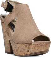 Carlos by Carlos Santana Bristol Platform Wedge Sandals Women's Shoes
