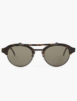 Thom Browne TB-700 Matte Black Sunglasses
