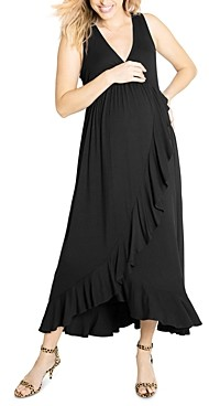 Ingrid & Isabel Cross-Front Maternity Dress
