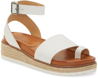 Lucky Brand Itolva Ankle Strap Espadrille Sandal