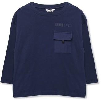M&Co Slogan utility t-shirt (3-12yrs)