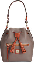Dooney & Bourke Pebble Small Logan Drawstring Bag