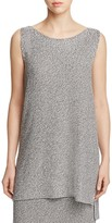 Eileen Fisher Petites Sleeveless Boat Neck Tunic - 100% Exclusive