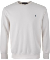 Ralph Lauren Crew Neck Sweatshirt Cream