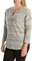Tommy Bahama Calvert French Terry Shirt - Cotton, Zip Neck, Long Sleeve (For Women)