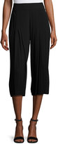 1 STATE 1.STATE Lightweight Pleated Culotte Pants, Black