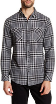 Burnside Regular Fit Plaid Shirt