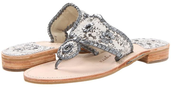 Jack Rogers Mini Crest (Navy) - Footwear
