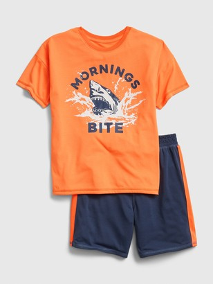Gap Kids Shark Short PJ Set