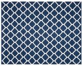 Pottery Barn Becca Tile Reversible Indoor/Outdoor Rug - Blue