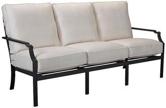Lane Venture Raleigh Sofa - Black/White Sunbrella