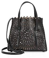 Alaia Women's Small Laser-Cut Leather Tote