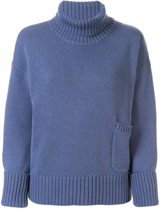Lamberto Losani roll neck jumper