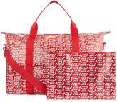 Harrods Red Bus Overnight Packable Bag