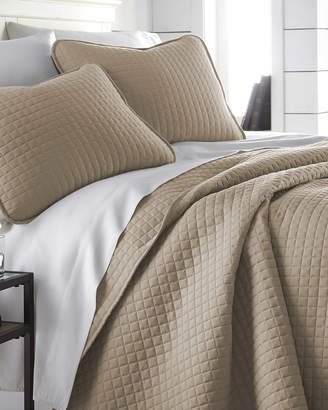 South Shore Furniture Southshore Linens Oversized Geometric Easy Care Quilt Set