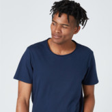 DSTLD Mens Modern Crew Neck Tee in Navy