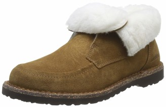 Birkenstock BAKKI Suede leather / fur Women's Chukka Boots