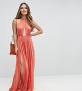 Asos Slinky Maxi Beach Dress with Braid Strap