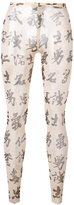 DSQUARED2 tattoo lounge trousers - women - Polyamide/Spandex/Elastane - S