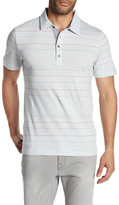 Travis Mathew Brooks Striped Polo Shirt