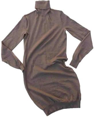 Ralph Lauren Brown Wool Dresses