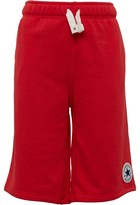 Converse Boys French Terry Shorts Red