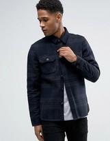 Celio Checked Overshirt Jacket