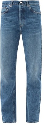 Totême Ease Mid-rise Straight-leg Jeans - Denim