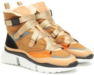 Chloã© Sonnie high-top sneakers
