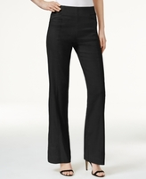 INC International Concepts Petite Pull-On Wide-Leg Pants, Created for Macy's