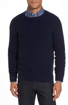 Nordstrom Men's Big & Tall Cashmere Waffle Knit Pullover