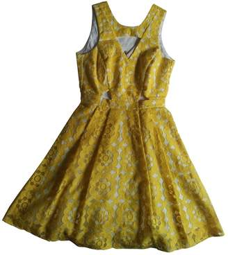 River Island Yellow Cotton Dress for Women